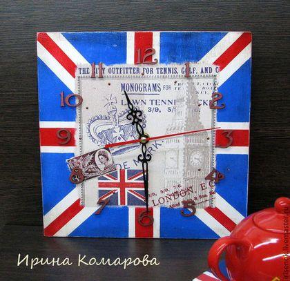 Часы для дома ручной работы. Ярмарка Мастеров - ручная работа Великобритания, часы. Handmade.