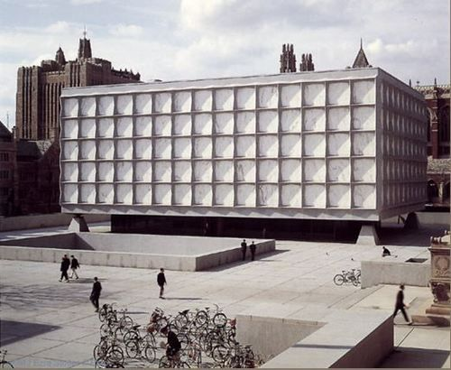 Beinecke Rare Book and Manuscript Library / Skidmore, Owings, & Merrill  New Haven, Connecticut  Completed in 1963