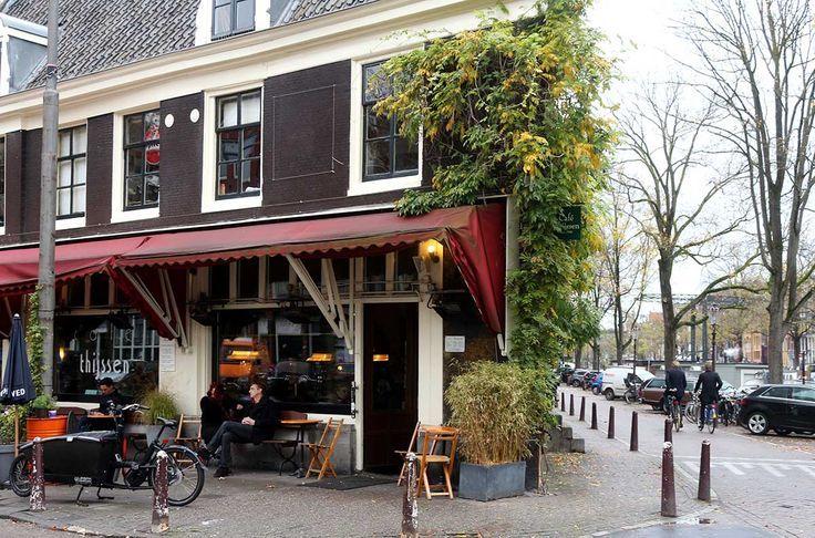 TOP 20 COZYBARS IN AMSTERDAM - cafe thijssen