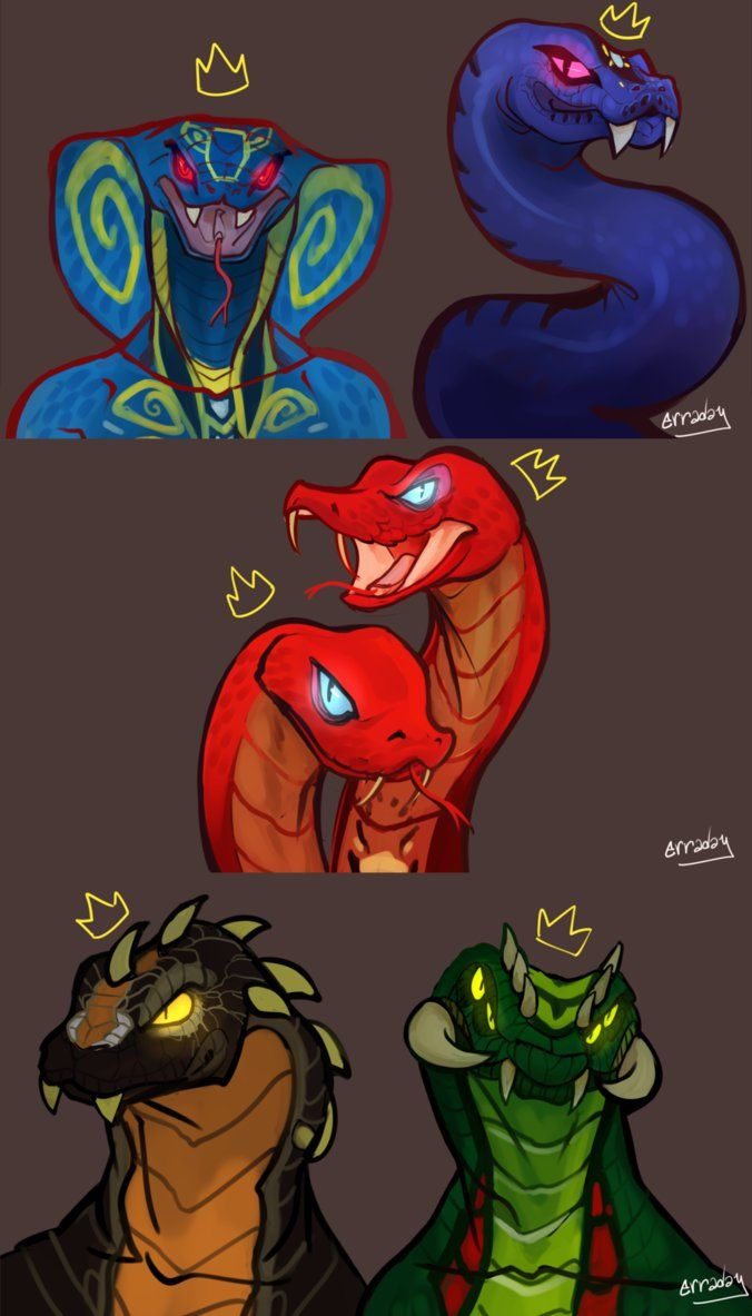 Erra-Day, the Snakes of Ninjago: can you name them all?