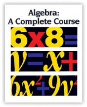 Probably will switch the highschooler's math from Saxon over to this course. Pining it so I don't forget.