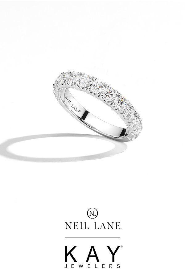 Neil Lane Diamond Anniversary Band 1 1 2 Ct Tw 14k White Gold Kay In 2020 Diamond Anniversary Bands Neil Lane Engagement Rings Anniversary Bands