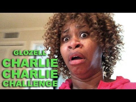 Charlie Charlie Challenge - GloZell - YouTube omg this is so hilarious!! Must watch!!!