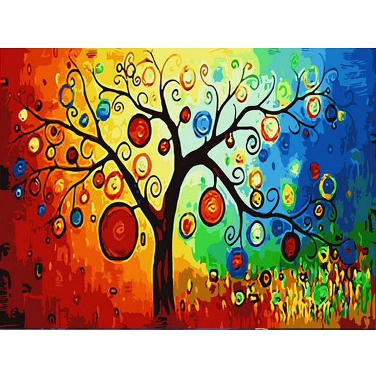 DIY Wall Decor Paint Figure Painting Frame less Pictures Painting By Numbers  Canvas Oil Painting On Canvas