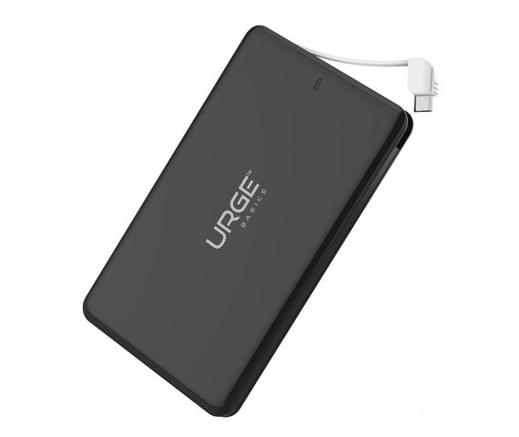 Ultra Slim Power Bank with built-in micro USB connector - 4000mAh