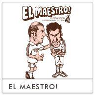<先生!> 銀河系と呼ばれたスーパースターチームの中でも一際輝くフットボール界のマエストロ。 ポルトガルの英雄ですら、彼に教えを乞うほど。