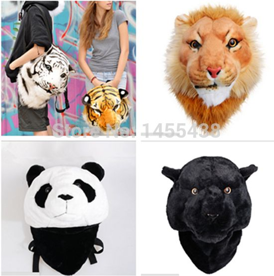 90.15$  Watch here - http://vimbq.justgood.pw/vig/item.php?t=btsbin417 - novel special Cool Luxury 3D Tiger Head Lion Panda leopard White Tiger Head styl 90.15$
