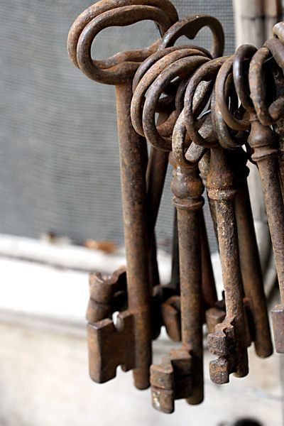ZsaZsa Bellagio: Weathered Skeleton Keys