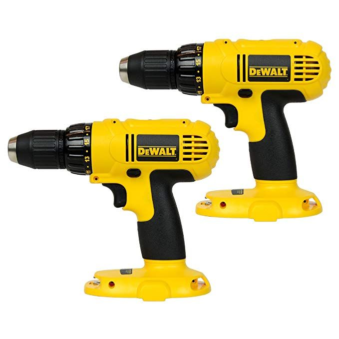 Dewalt Dc970 18v 1 2 Cordless Drill Driver 2 Pack Review Drill Driver Drill Cordless Drill