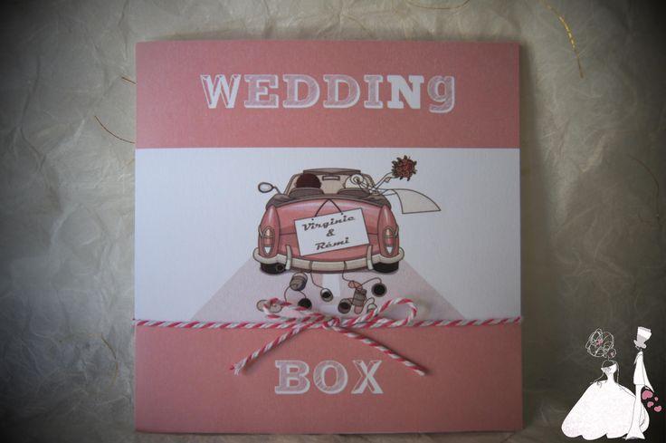 Faire part Mariage Original BOX : Faire-part par mariageandcie
