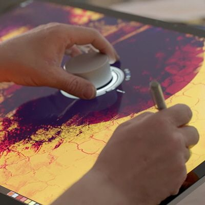 Video of What the Microsoft Surface Studio Will Do for Design Drawing- Core77