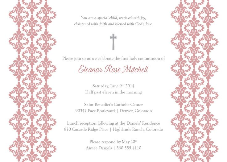 23 best Invites images on Pinterest Christening invitations - lunch invitation templates