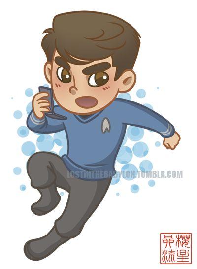 Leonard McCoy chibi!!!