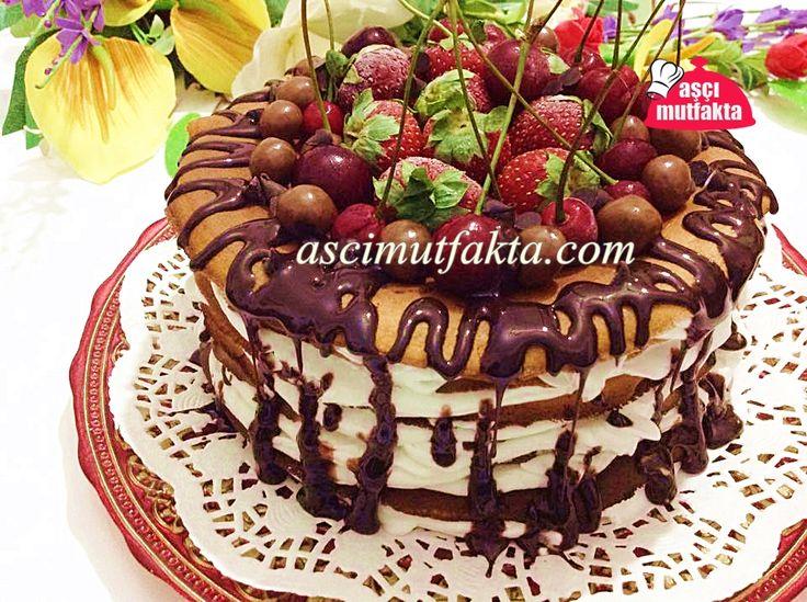 Pankek Pasta Tarifi   Aşçı Mutfakta