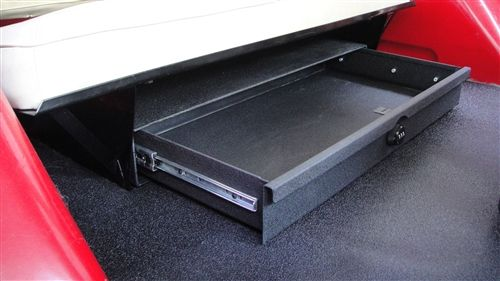 Lockable Under Seat Security Storage Drawer Early Bronco