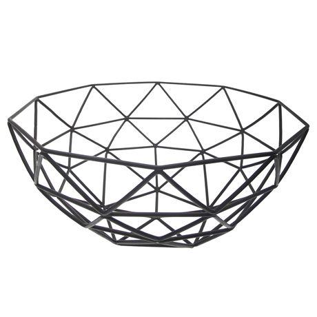 Satellite Basket 29cm  Black
