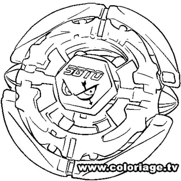 Voici La Toupie Beyblade Sagitorio Colorie Le Texte Au Milieu En Bleu Gris Le Dessin En Orange Et L Hexago Coloring Pages Cute Coloring Pages Colouring Pages