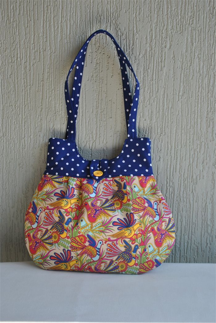 Alice - ladies colourful bird bag | Witching Hour | madeit.com.au
