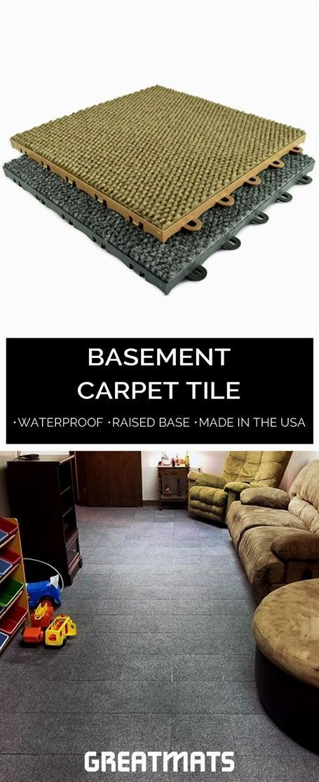 greatmats own basement carpet tiles are made in the usa and easy to rh in pinterest com