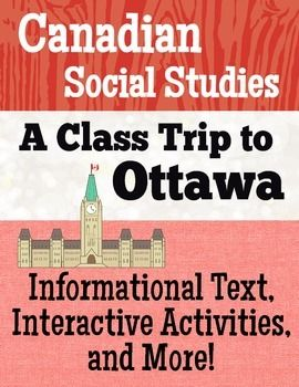 """The premise of this resource is to provide students with a way to plan a """"virtual"""" class trip to Ottawa with the help of the Internet."""