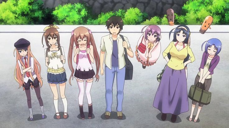 The gang | Rokujouma no Shinryakusha
