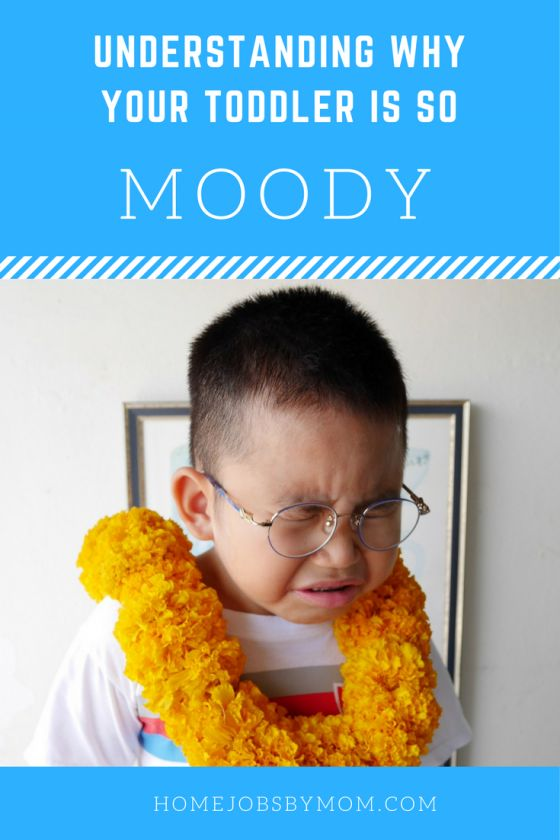 There are a lot of reasons for toddlers to be #moody. Their emotions swing from hysterical laughter to crying in a second, and it can be very tiring trying to keep up with them and their mixed emotions #toddler discipline, toddler behavior, toddler tantrums, toddler hacks