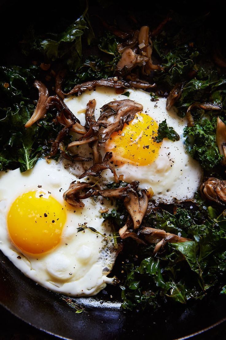 Some mornings I can't quite muster up the energy for pancakes or something more involved than eggs & toast. It's days like that where the simplest additions like wild mushrooms ...read more