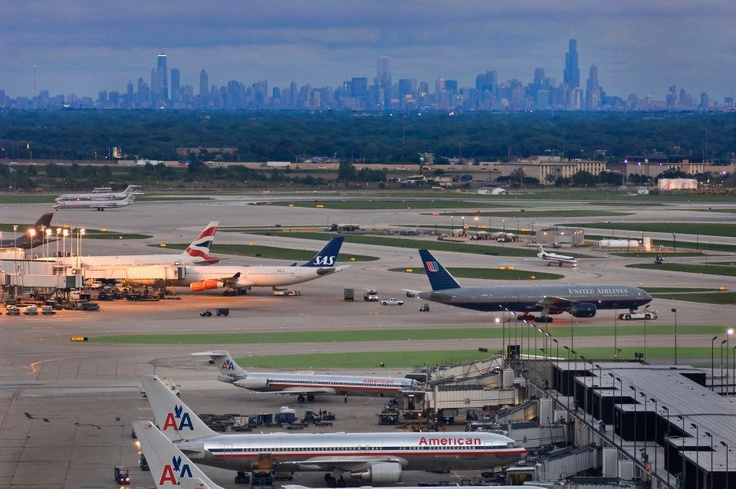Ohare Airport & Chicago