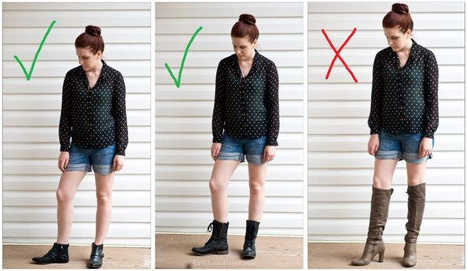 2 IMPORTANT RULES TO REMEMBER WHEN WEARING BOOTS THIS FALL ...