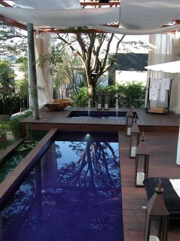 home exteriors - Zen. Pool. Relaxing. Zen space. Great for meditation and yoga exercise.