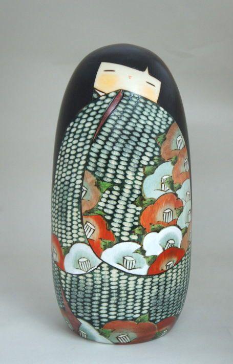 kokeshi yukitsubaki - kokeshi egg inspiration
