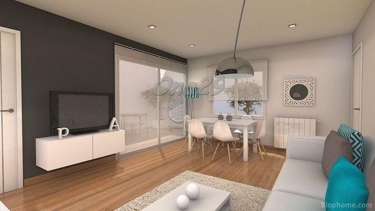 Ayuda distribucion salon comedor cuadrado de 20 m2 ideas for Decoracion de salon comedor pequeno