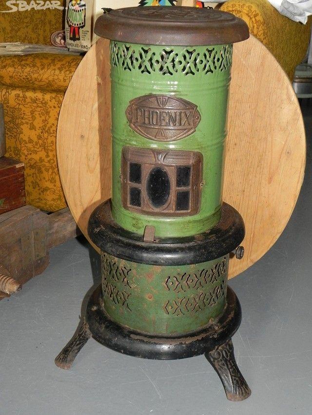 Stará petrolejová kamínka - PHOENIX - obrázek číslo 1
