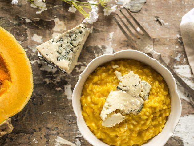 Um prato para aquecer suas noites! – Risoto de Abóbora com Gorgonzola