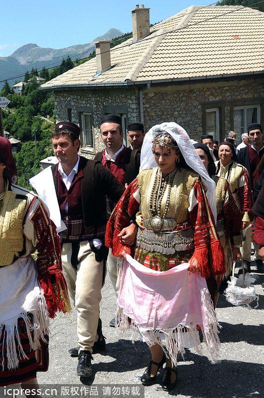 les robes de mari es travers le monde macedoine