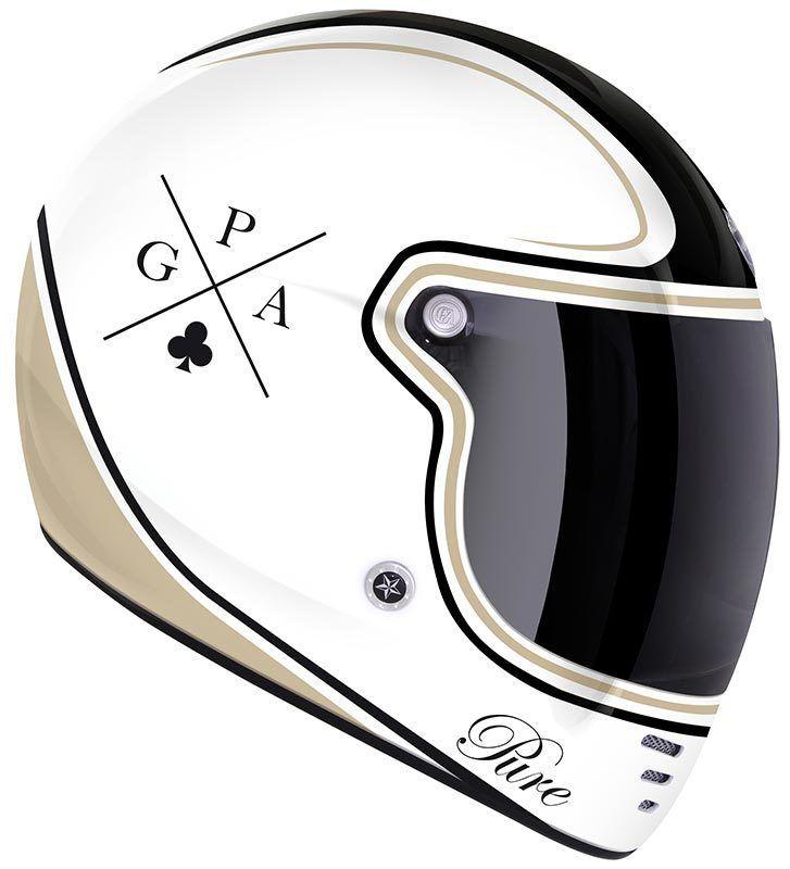 GPA Pure Crossword Helmet - FC-Moto English