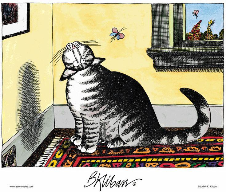 Go Git It Kliban CatCat