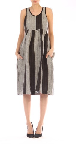 Ace & Jig Weekend Dress style linen stripe