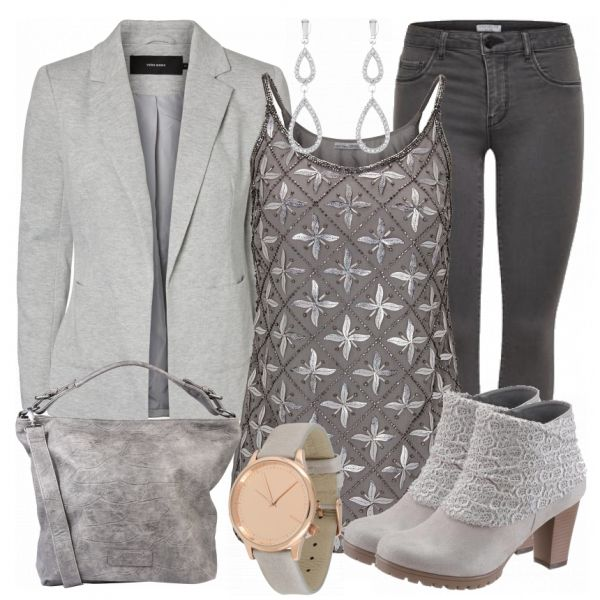 Love this outfit, except the blazer