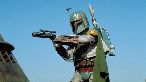 "Boba Fett:  With his customized Mandalorian armor, deadly weaponry and silent demeanor, Boba Fett was one of the most feared bounty hunters in the galaxy. A genetic clone of bounty hunter Jango Fett, Boba (as Jango's ""son"") learned combat and martial skills at a young age. Over the course of his career, which included contracts for the Empire and the criminal underworld, he became a legend."