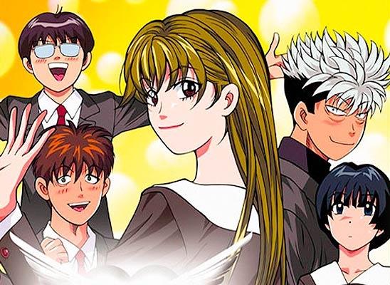Cheeky Angel. the entourage! Anime Love + Manga