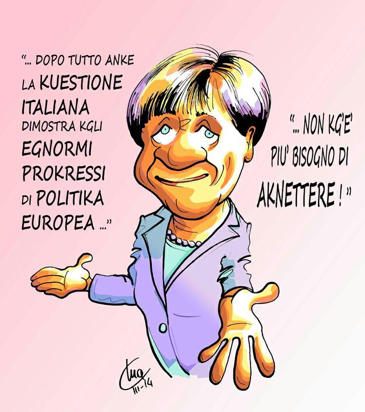 ITALIAN COMICS - L'invasione dei produttori di wurstel tedeschi e il paladino della dieta mediterranea