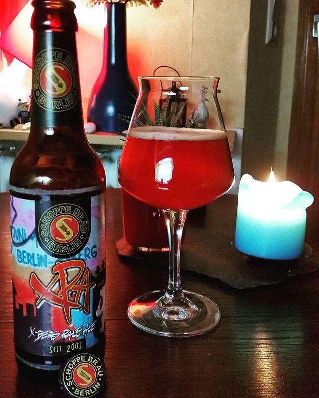 Let's go X-berg with #schoppebraeu  #xpa #paleale #craftbeerberlin #berlinbeer #craftbeer #beerme #beergeek #beerlove #beernerd #beertime #bier #bierchen #beer #bière #birra #pivo #olut #enjoyyourbeer # drinklocal #microbrewery #beerisgood #beersofinstagram #beerstagram #instabrew #beerselfie #beerpics #craftbeerpics