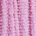 Where to find ruffle fabric:): Fabrics Site, Pink Ruffles, Perfect Pink, Double Stretch, Frilly Perfect, Ruffle Fabric, Fabrics Stores, Baby Rompers, Ruffles Fabrics