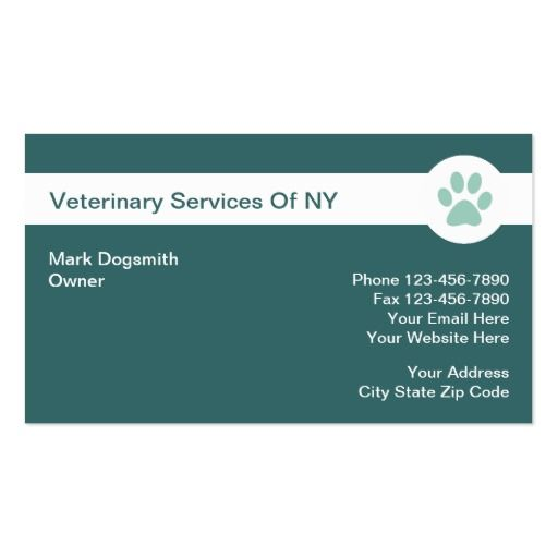 193 best veterinarian business cards images on pinterest business veterinarian business cards colourmoves