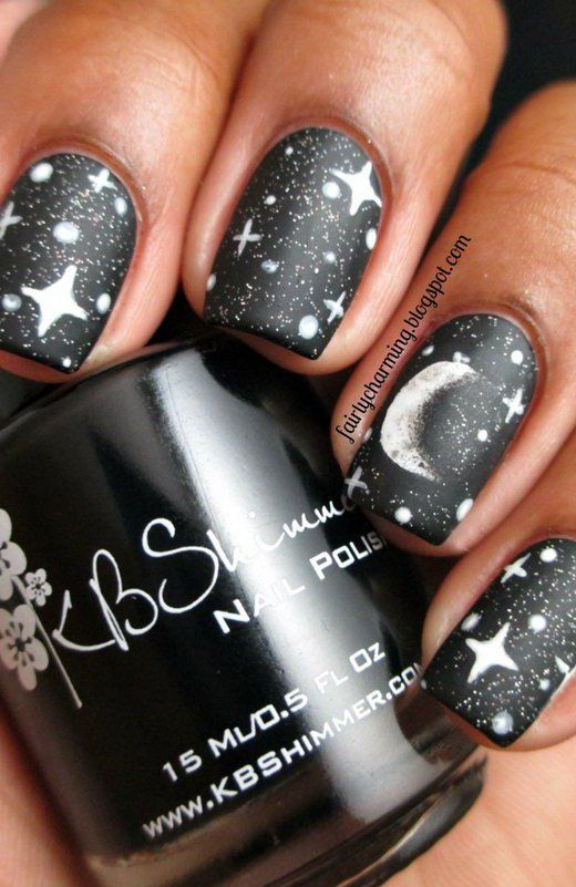 The 25 best star nail designs ideas on pinterest nail blog 17 stunning star nail designs for fashionistas 11 fashionable star nail art prinsesfo Image collections
