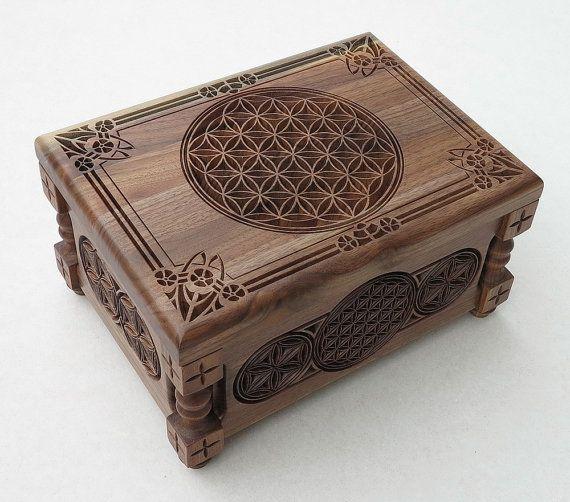 Flower of Life Small Jewelry Box Gift Box от BulgarMaster
