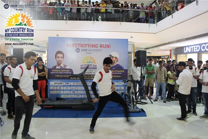 From Flash Mob to Push-ups to myriad of activities were organised by #MyCountryRun in The Forum Mall Koramangala. To register for the race worth Rs. 1Lakh please login to www.mycountry.run