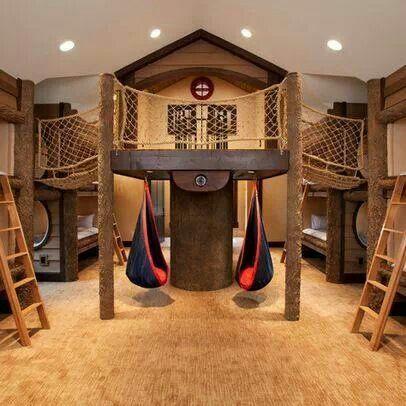 Creative kids room....wow!!