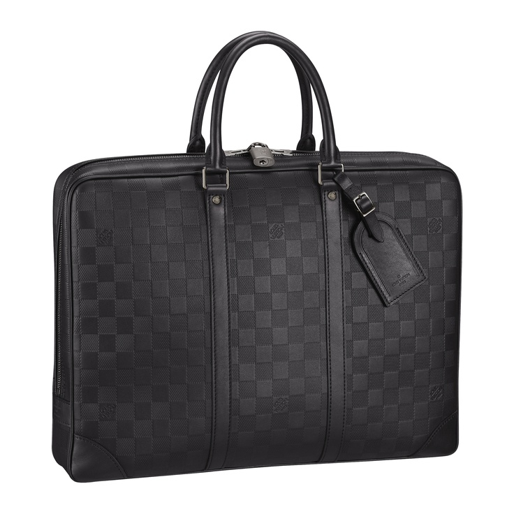 Step up the luxury with the Porte-Documents Voyage in Damier Infini from Louis Vuitton's Father's with Style selection.